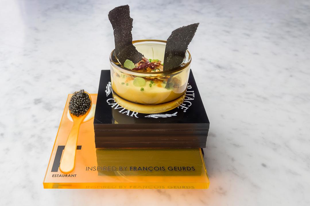 FG Food Labs Rotterdam aardappel Joselito inktvisinkt kaviaar