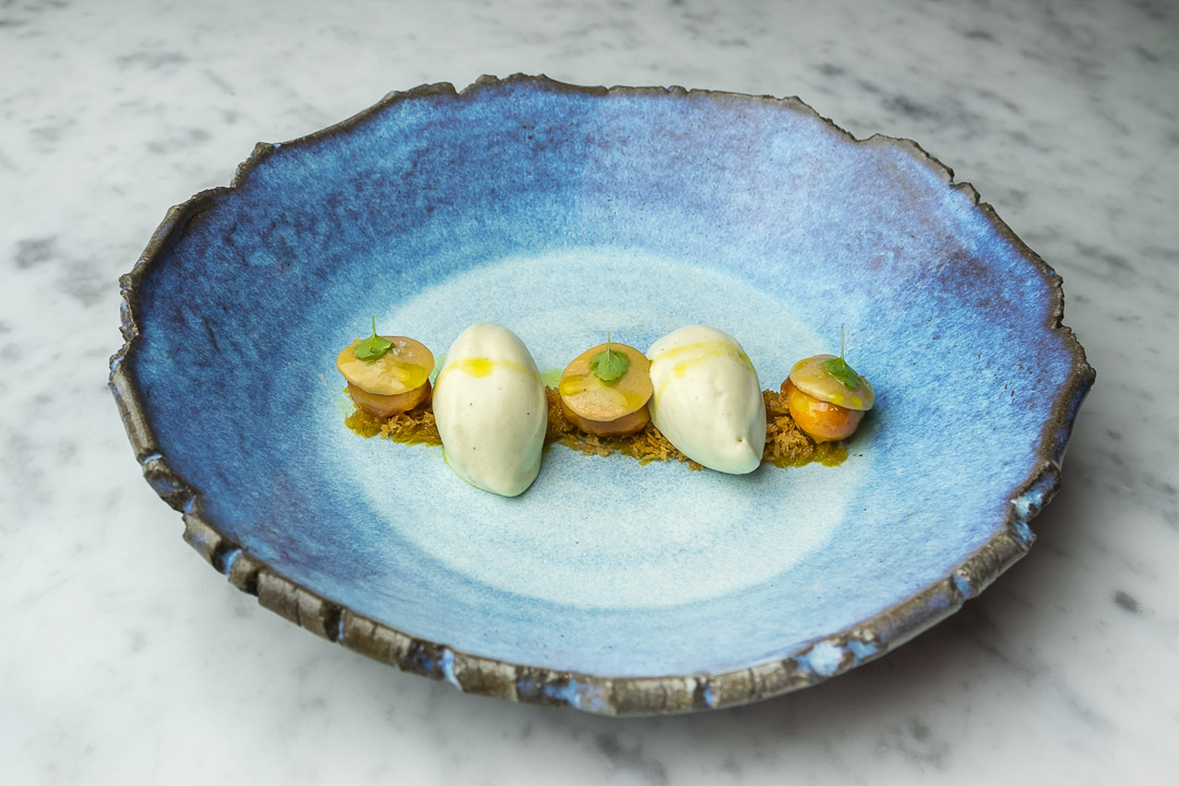FG Food Labs Rotterdam dessert macadamia foie vanille olijfolie