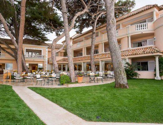 hotel résidence pinède saint-tropez tuin