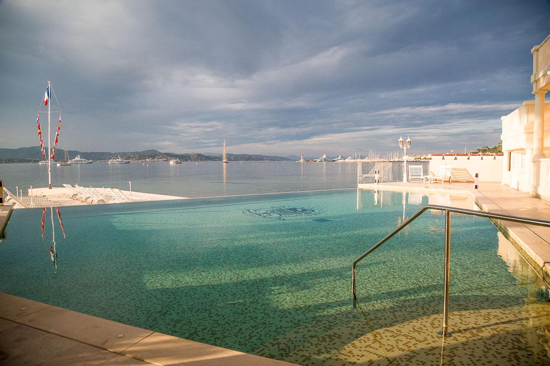 hotel résidence pinède saint-tropez zwembad