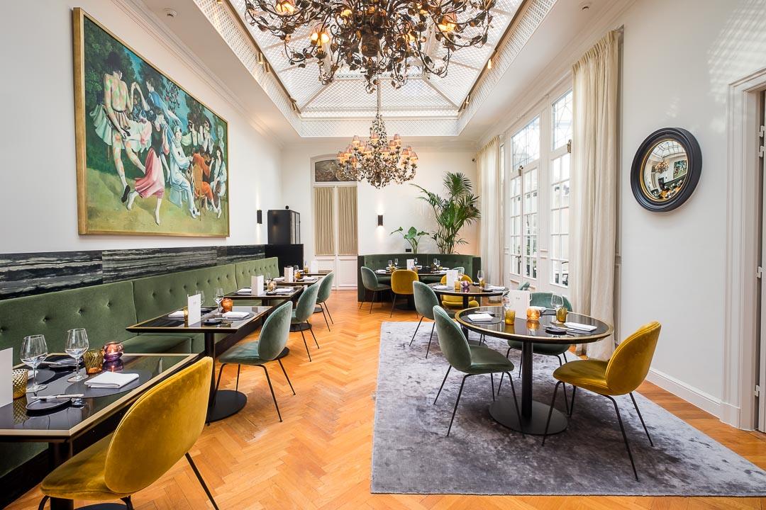 restaurant Damier Kortrijk interieur