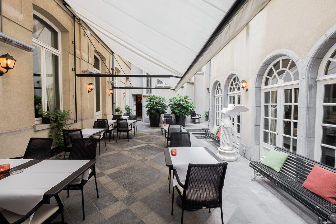 restaurant Damier Kortrijk terras