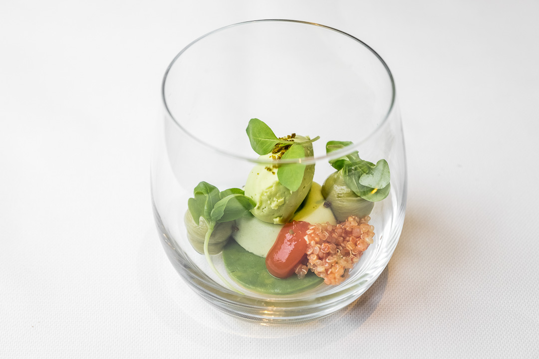 Restaurant JER Hasselt avocado olijf basilicum
