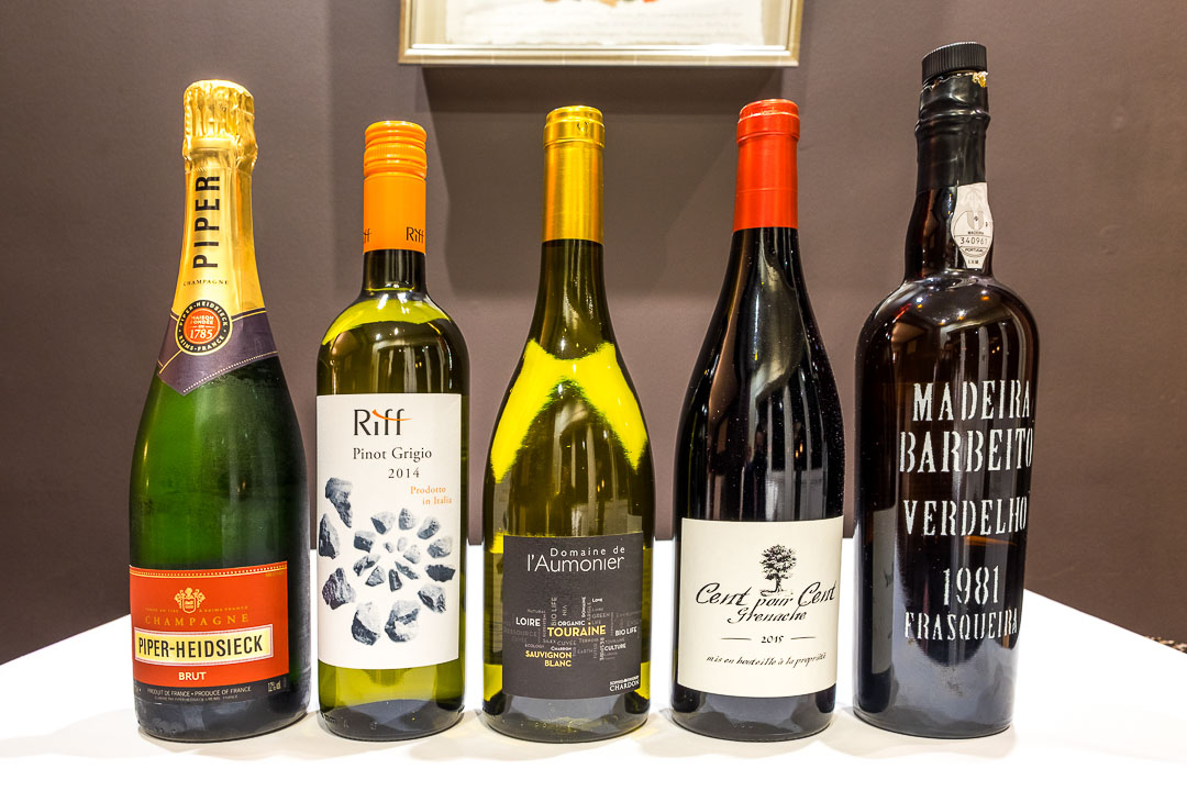 Restaurant JER Hasselt wijnen dranken