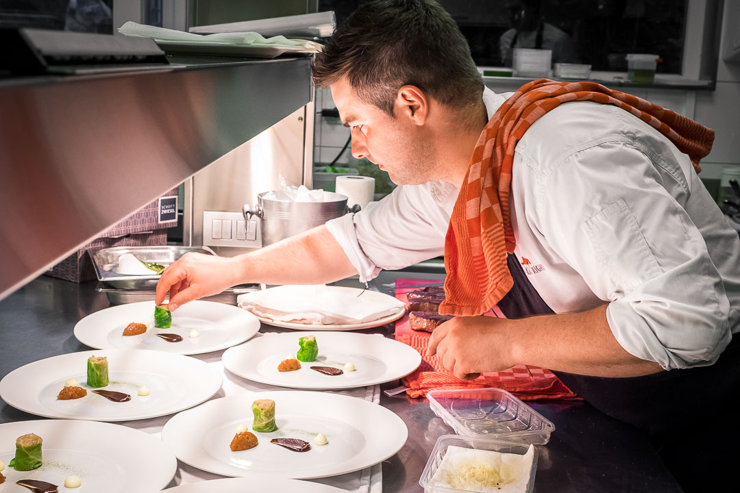 Restaurant JER Hasselt keuken chef Wim Schildermans