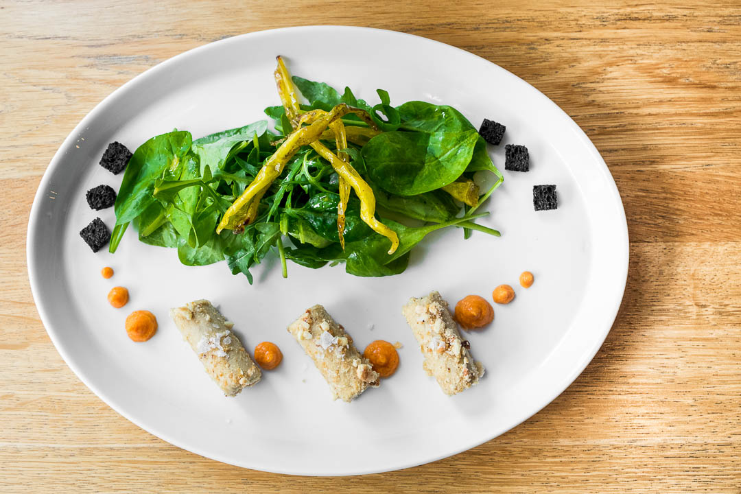 ZONA boedapest restaurant salade foie gras