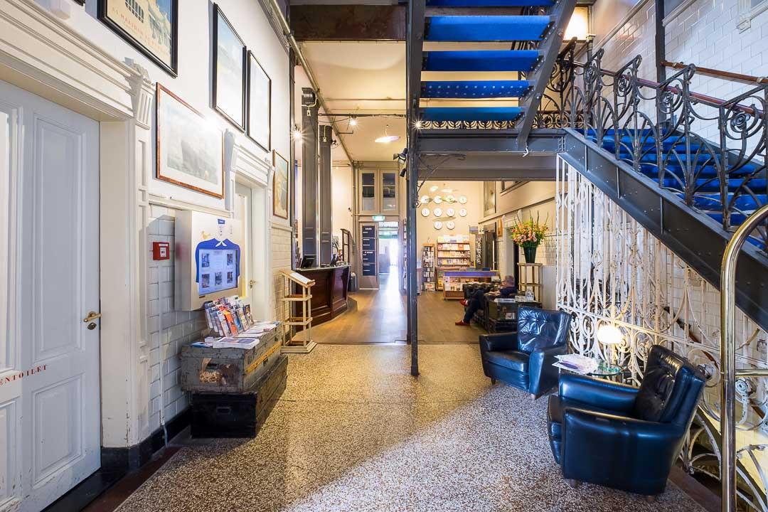 Hotel New York Rotterdam receptie