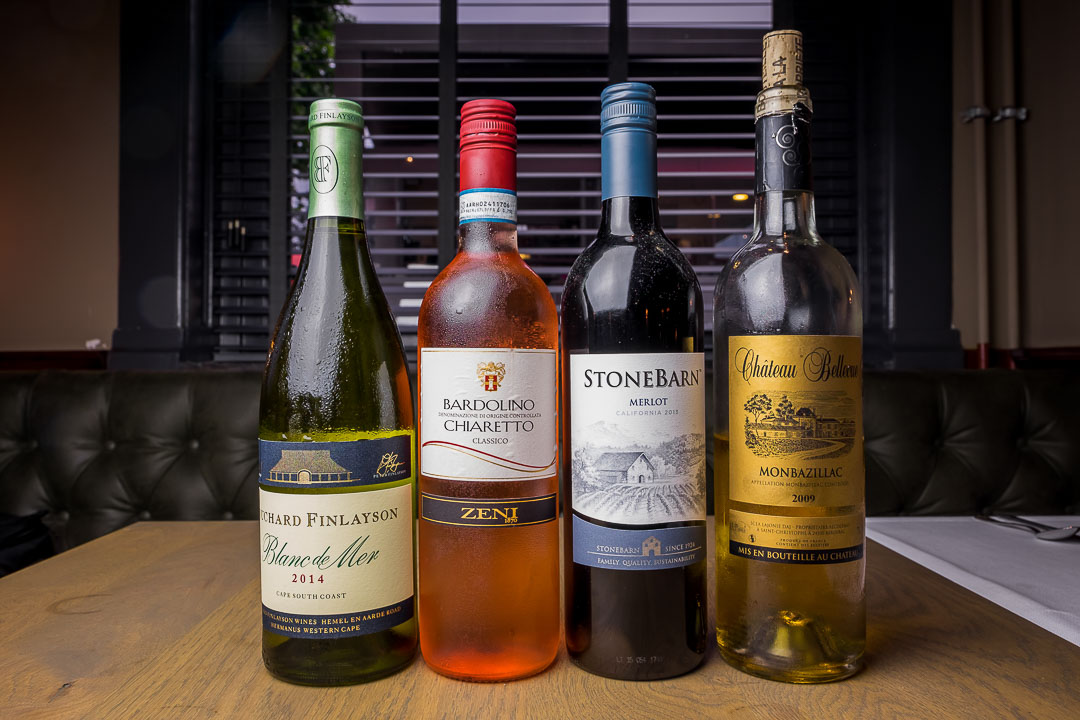 NY Basement Rotterdam selectie wijn pairing