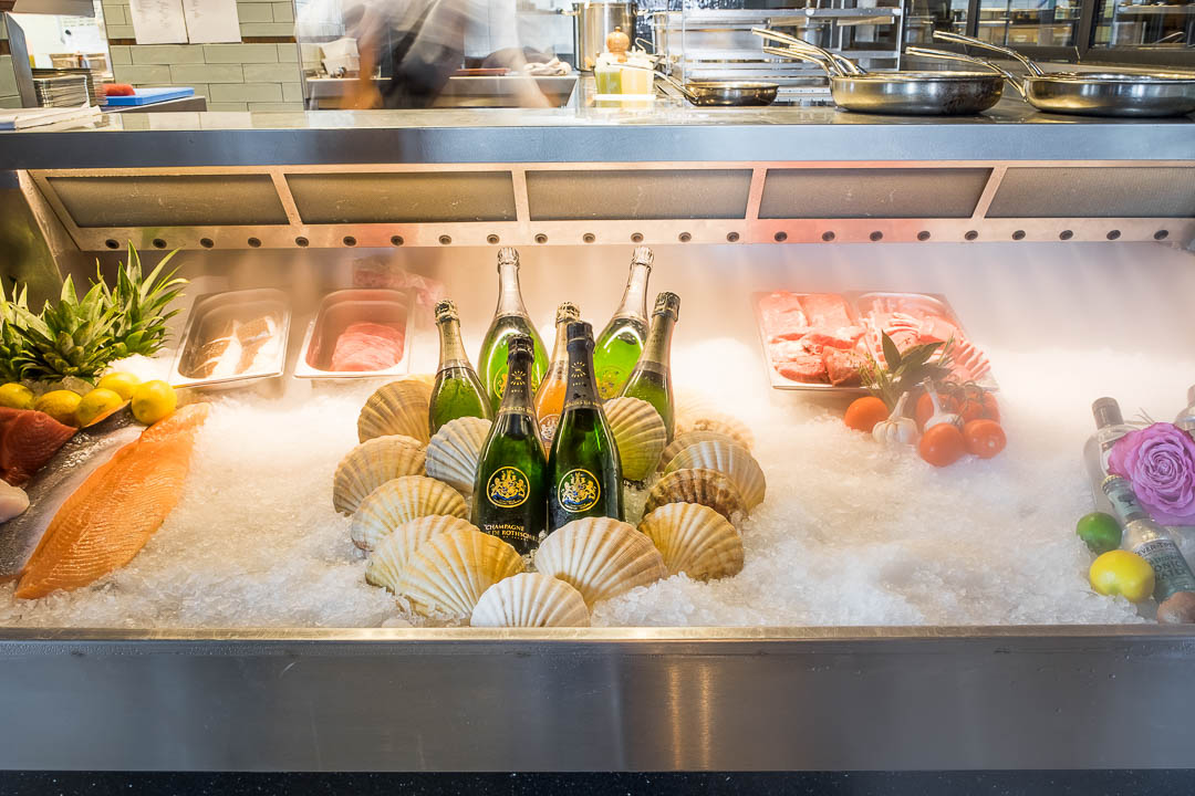 NY Basement Rotterdam vis keuken kooltoog