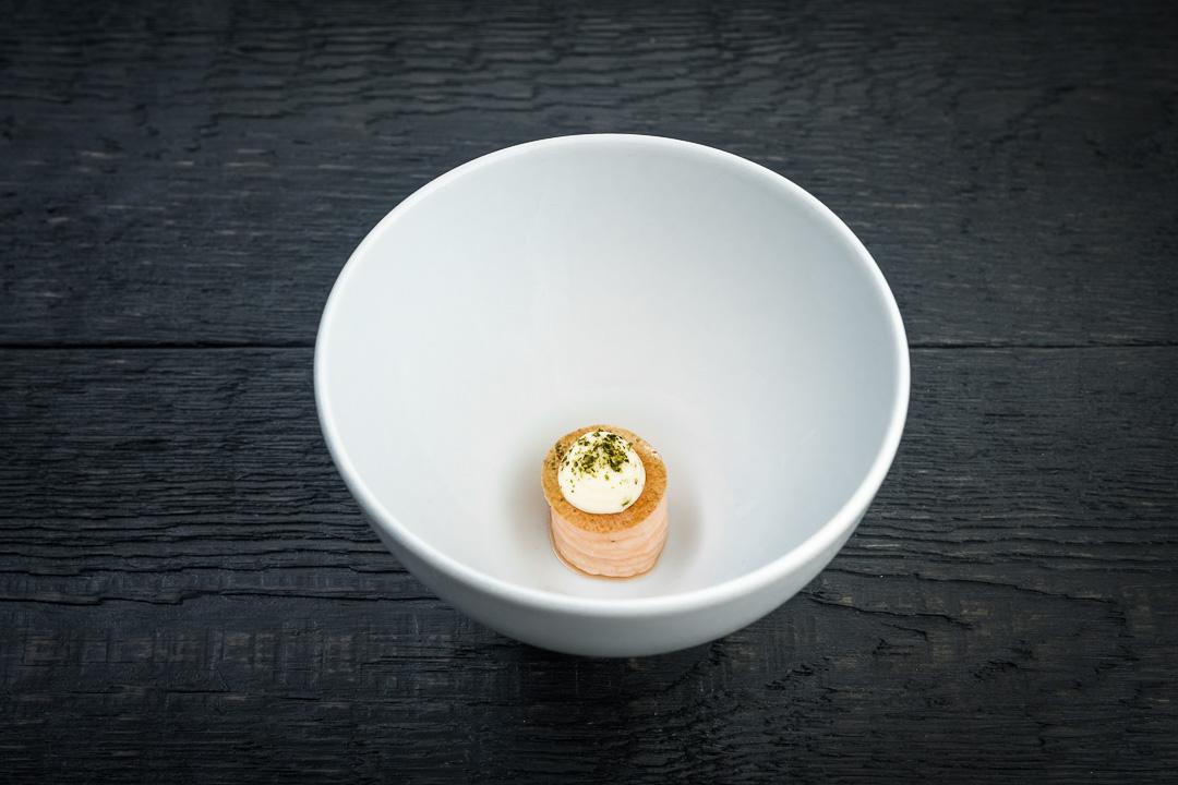 restaurant cochon de luxe gent amuse zalm yuzu