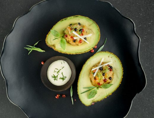 avocado zalmtartaar