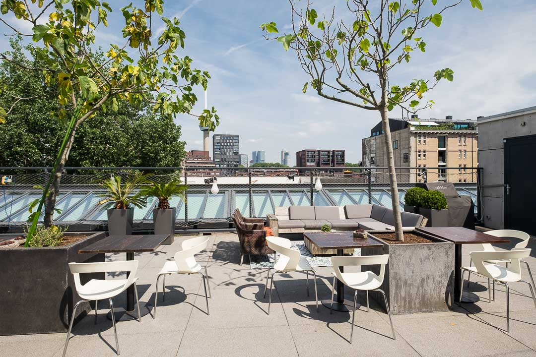 Stroom hotel rotterdam roof top