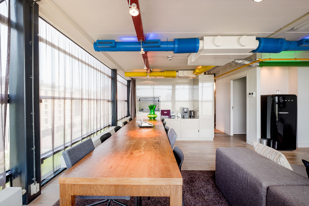 Stroom hotel rotterdam living room loft