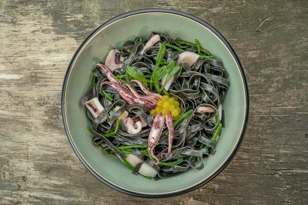 hungry for more home cooking squid pasta