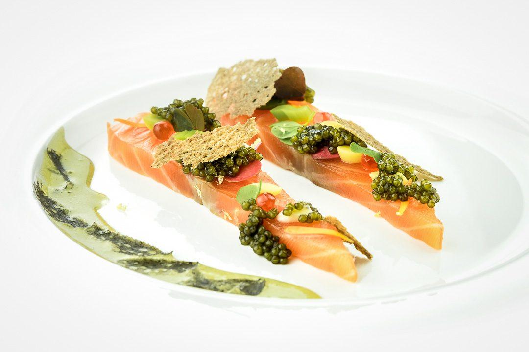boulevard de champagne oostende zalm gold caviar