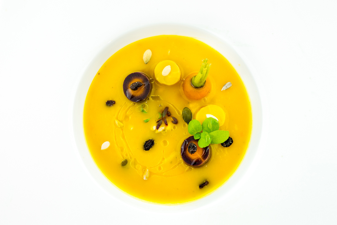 soep pittig pompoen wortel