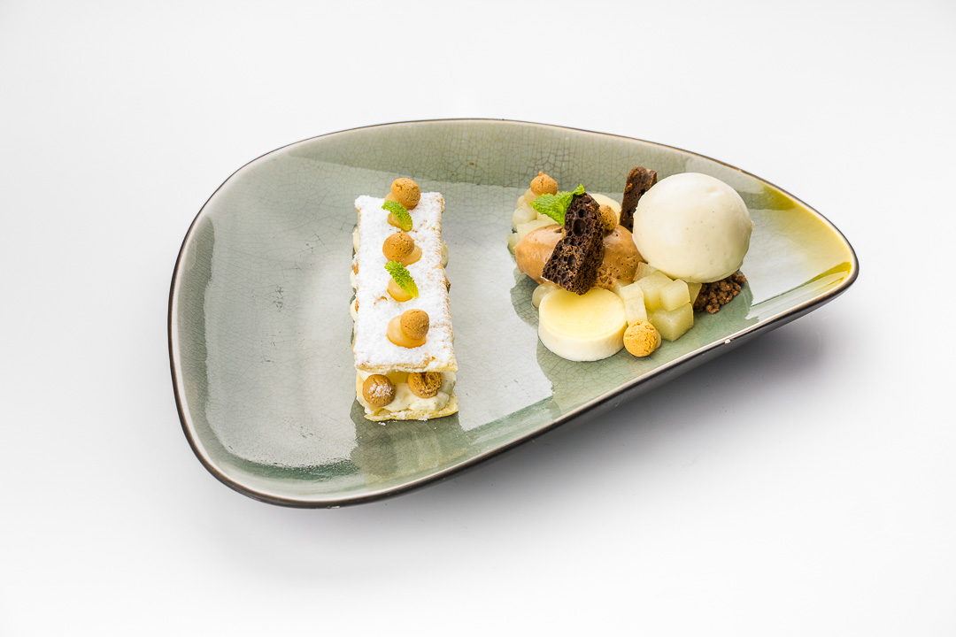 Kruisherenhotel Maastricht millefeuille peer chocolade mascarpone