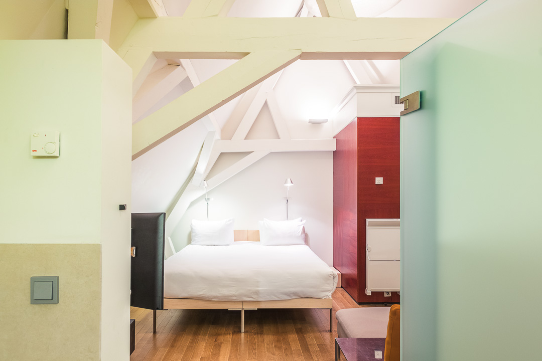 Kruisherenhotel Maastricht slaapkamer