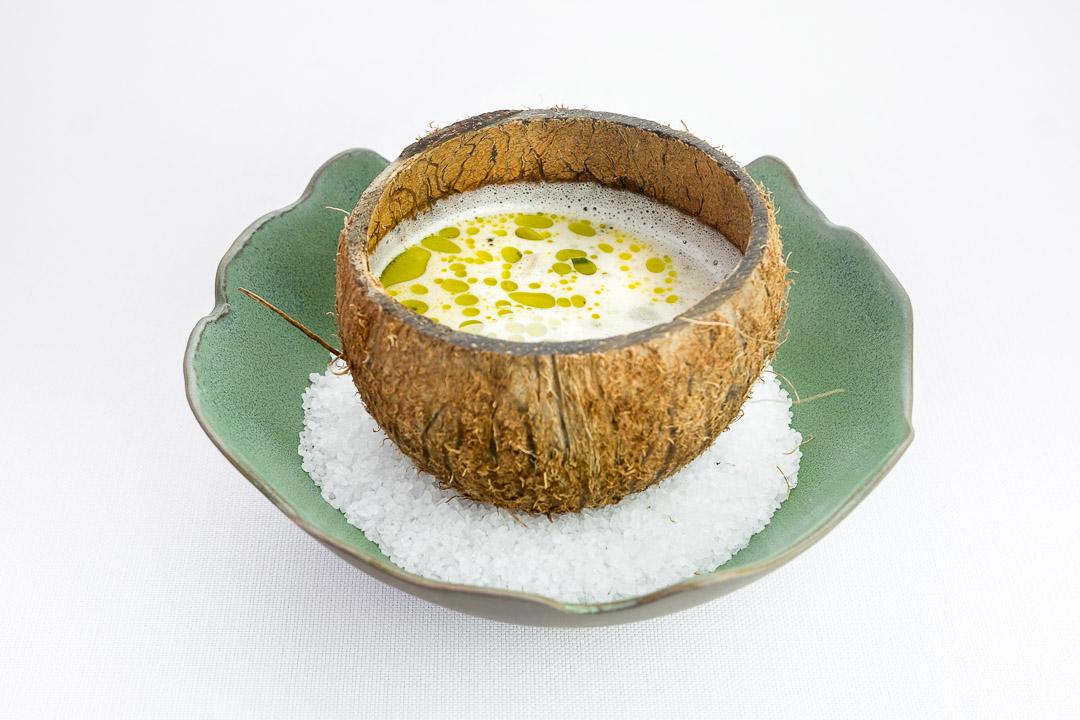 soep kokos zeevruchten restaurant danny vanderhoven maasmechelen