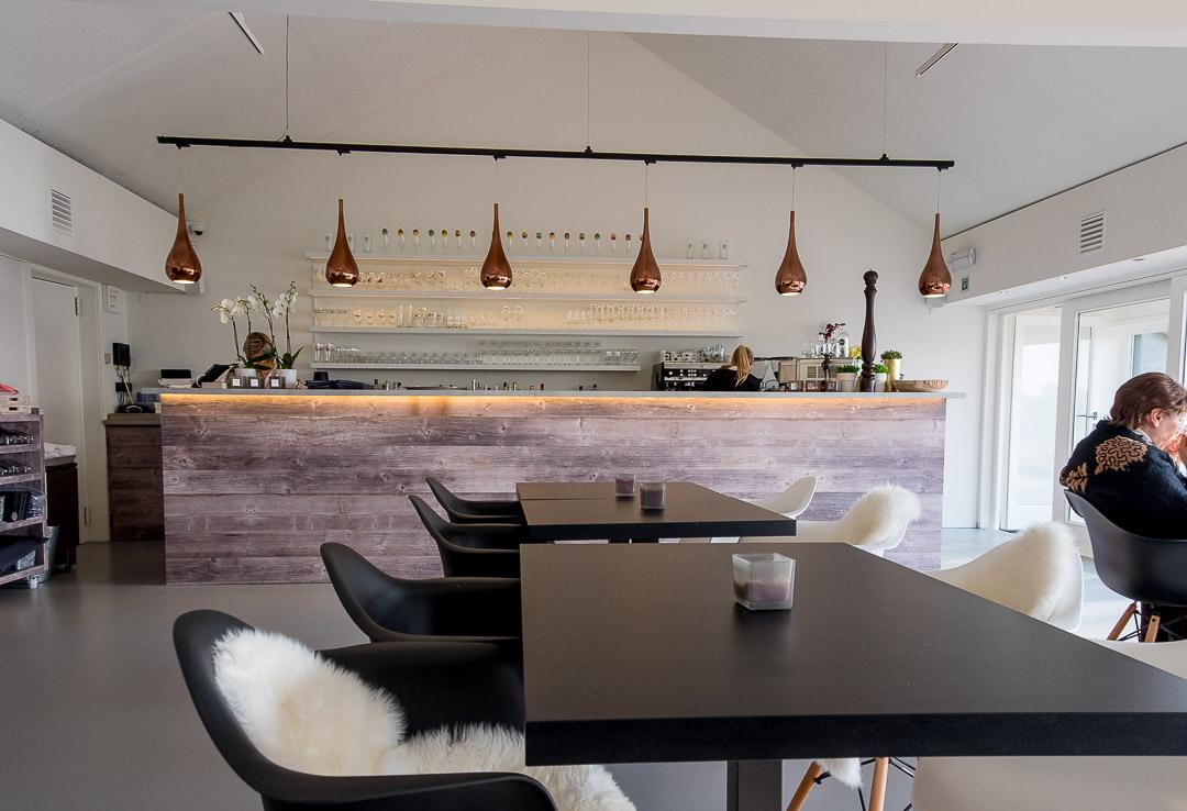 Interieur restaurant Café d'O Sint-Amands