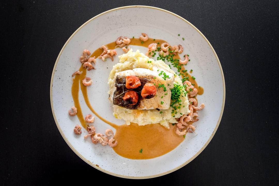 restaurant Cafe d'o Sint-Amands skrei prei kerstomaten nuantasaus