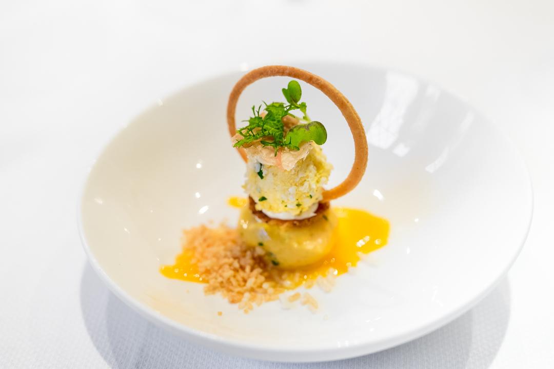 lunch restaurant het gebaar antwerpen dessert