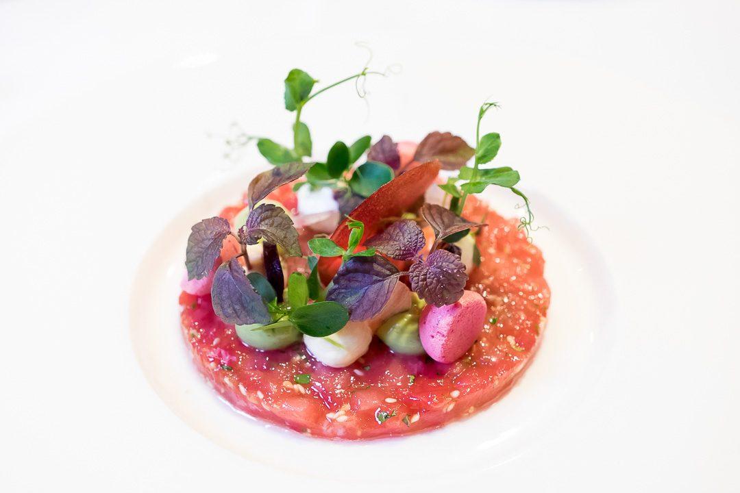 lunch restaurant het gebaar antwerpen tonijn