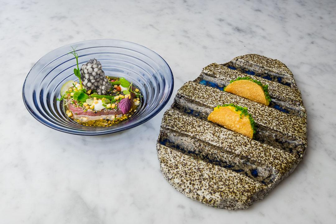 FG Food Labs Rotterdam ceviche tonijn taco mango