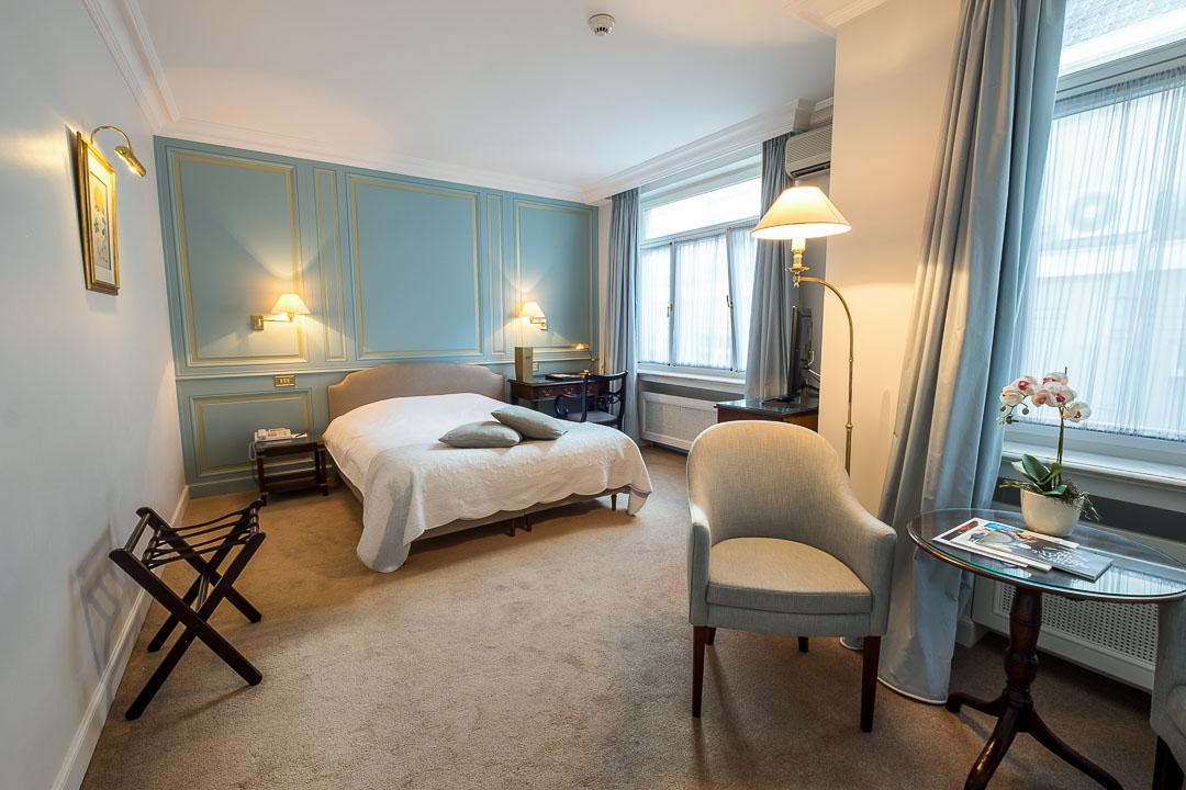 Hotel Damier Kortrijk kamer