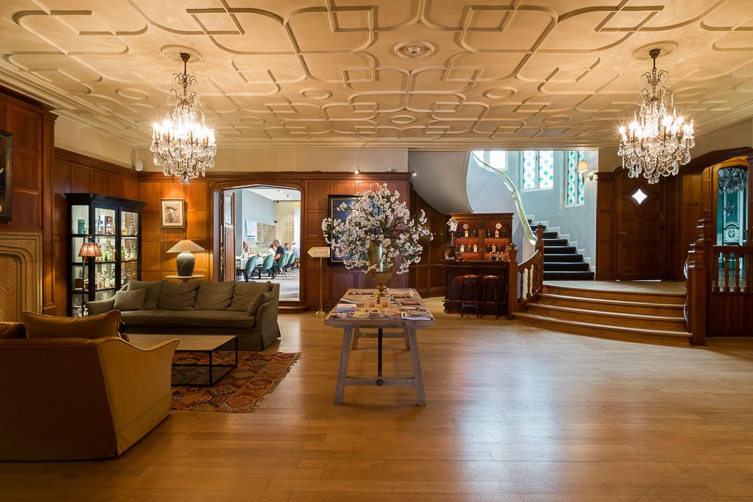 Hotel Damier Kortrijk lobby receptie
