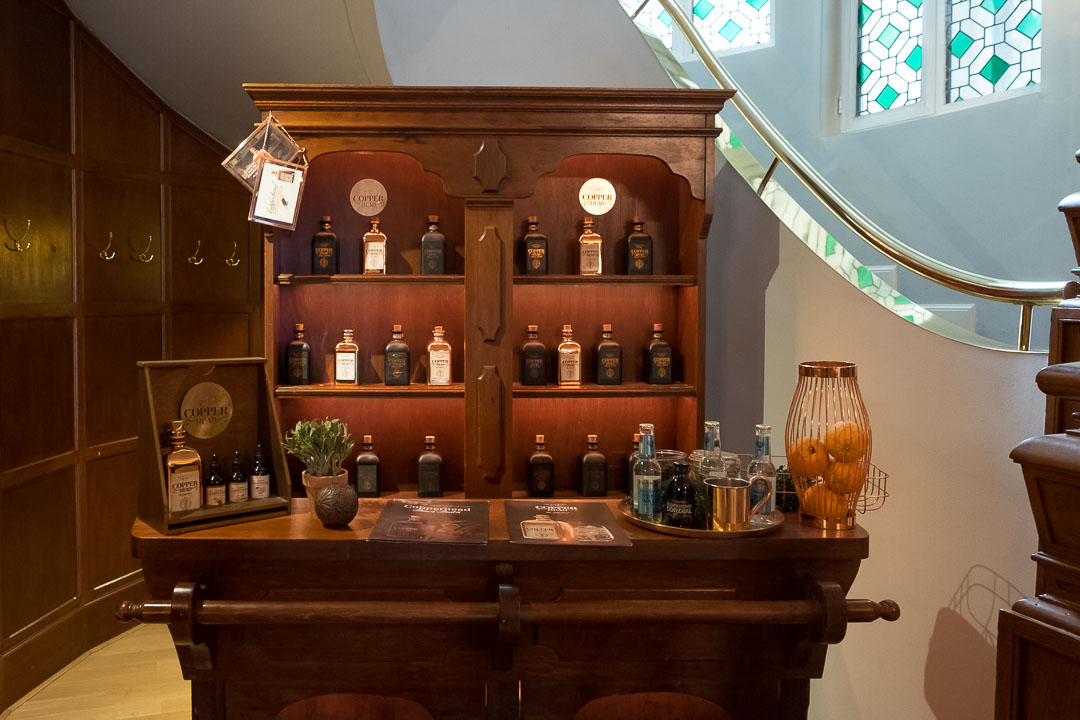 Hotel_restaurant Damier Kortrijk gin Copperhead