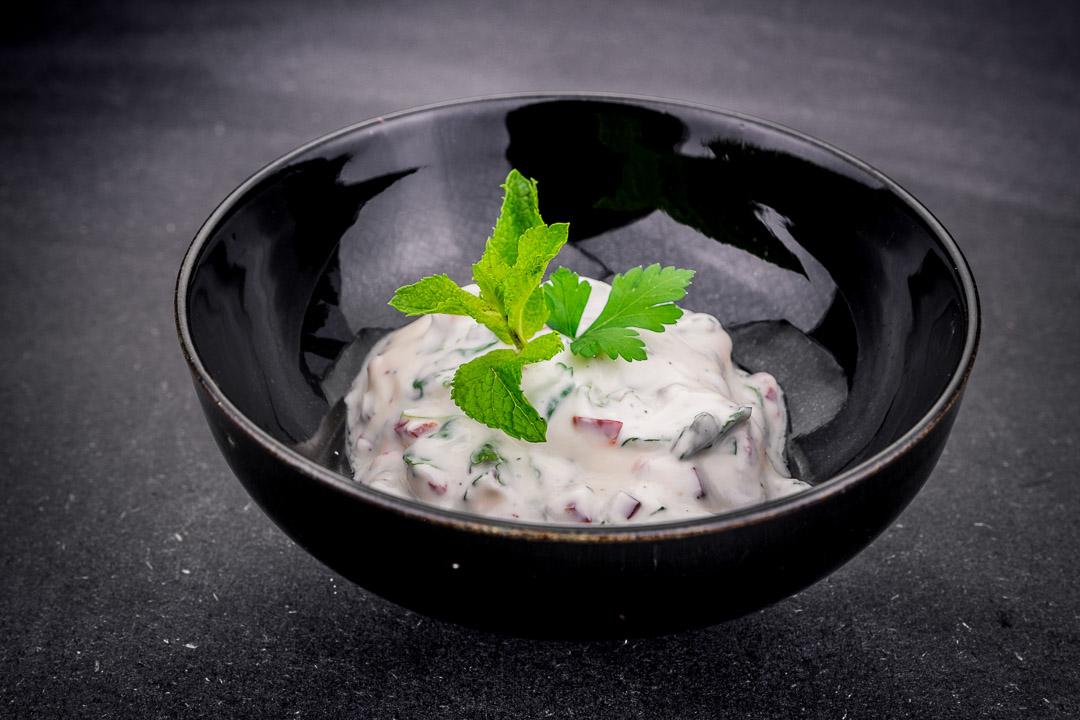 dipsaus yoghurt koriander munt