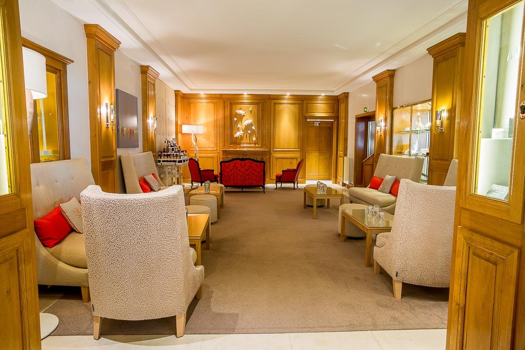 hotel résidence pinède saint-tropez lobby