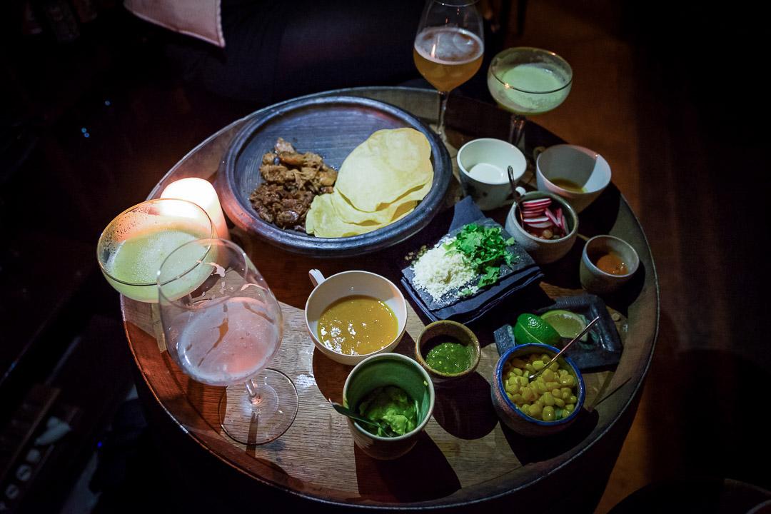 Mexicaans cocktails hapjes Paul Morel tortilla pulled pork