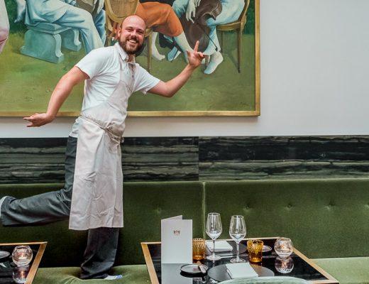 restaurant Damier Kortrijk chef Martijn Defauw slider