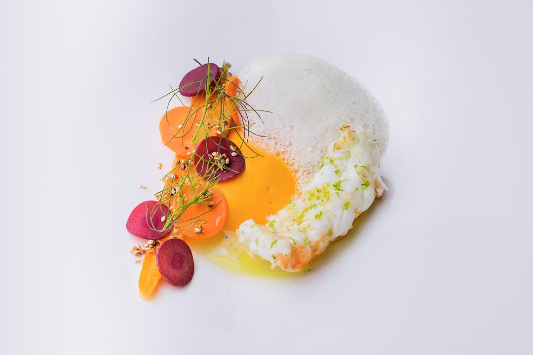 restaurant Damier Kortrijk langoestine wortel