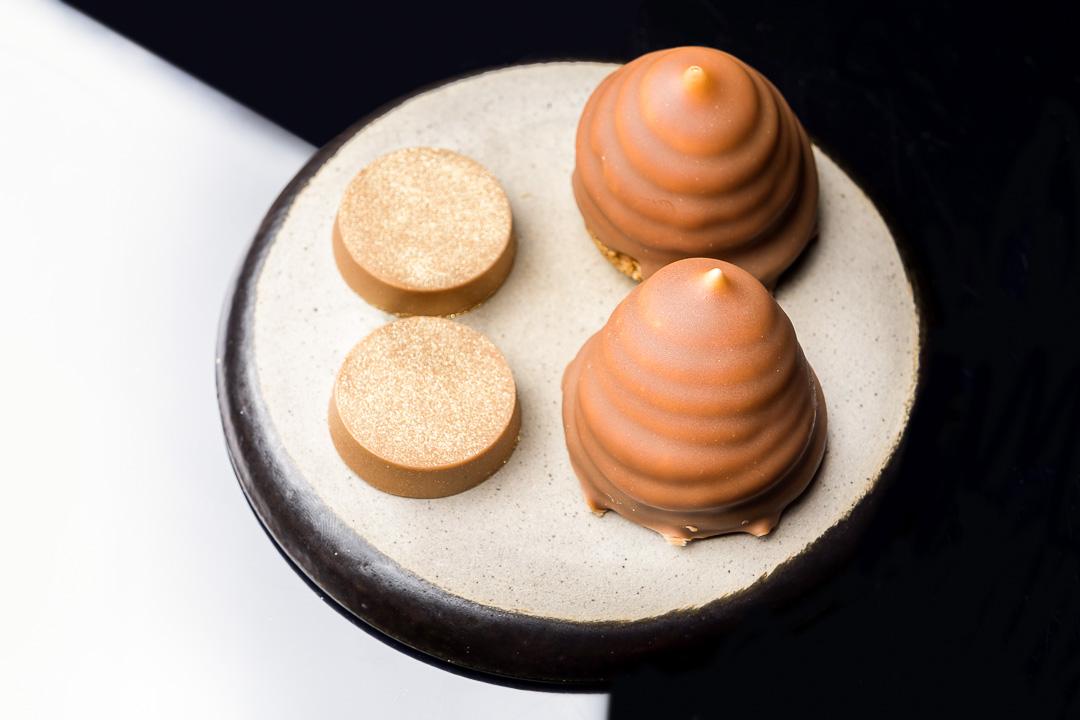 restaurant Damier Kortrijk mellow cake praline