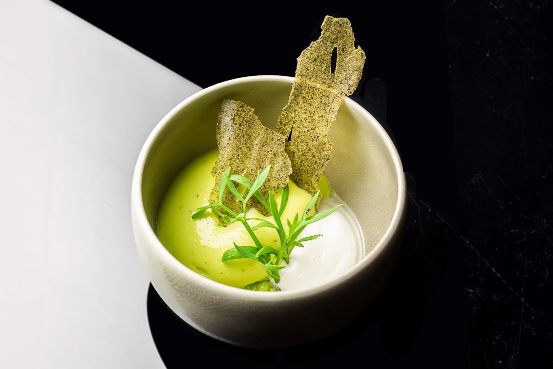 restaurant_Damier Kortrijk oester komkommer algen