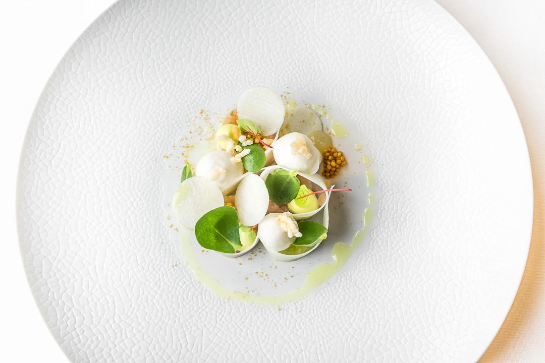 Restaurant JER Hasselt koolrabi makreel kerrie appel