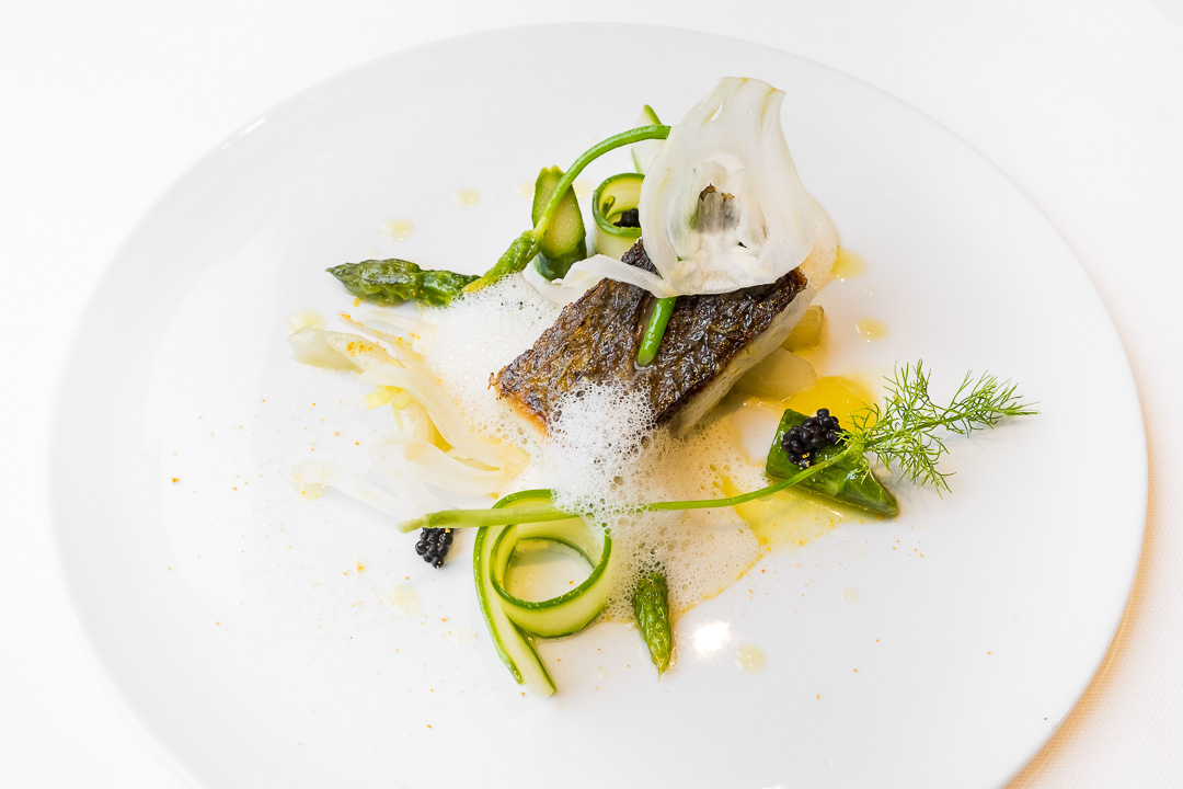 Restaurant JER Hasselt ombervis asperges venkel