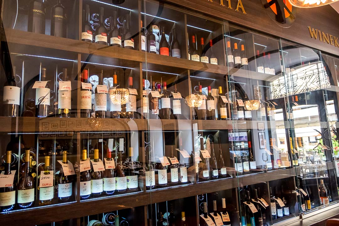 Borkonyha Boedapest restaurant wijnen