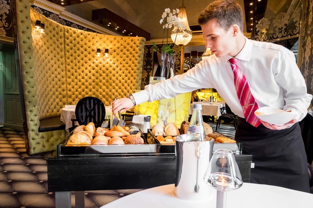 Onyx Restaurant Boedapest brood kar