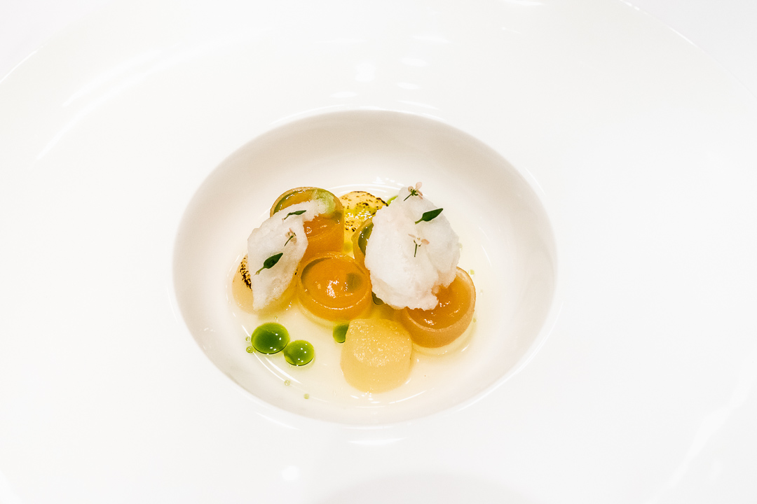 Onyx Restaurant Boedapest camille dessert