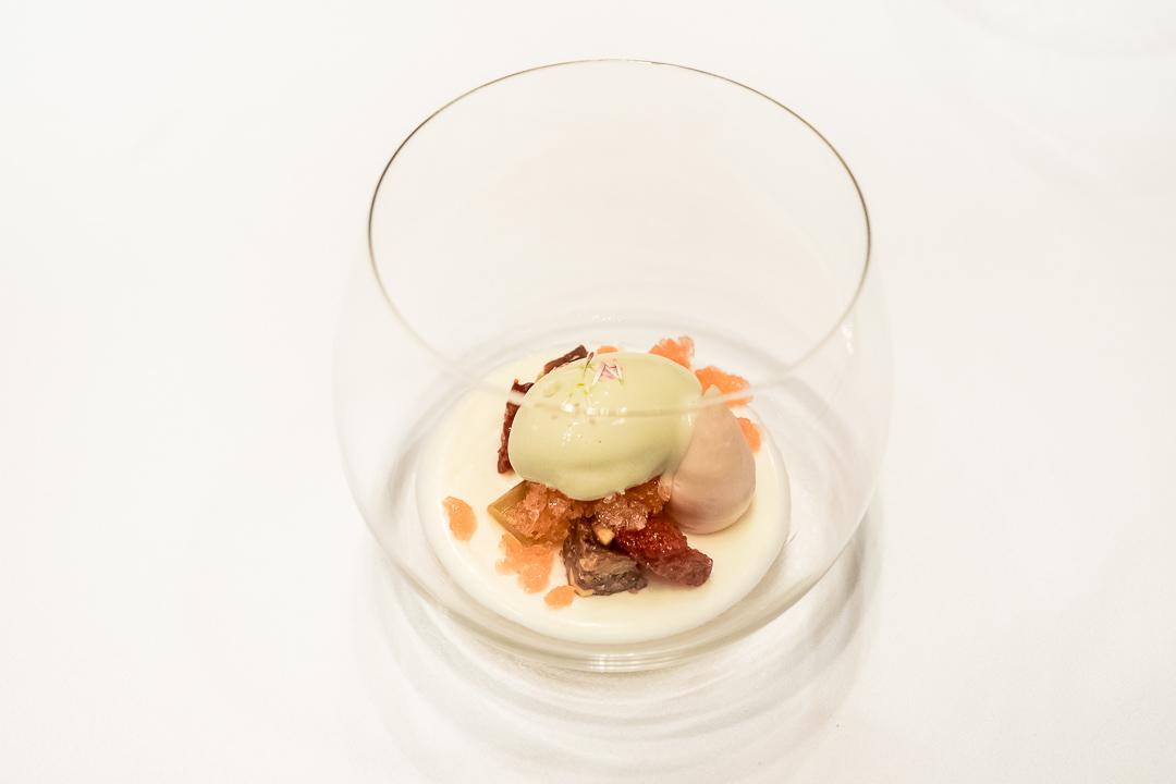 Onyx Restaurant Boedapest panna cotta