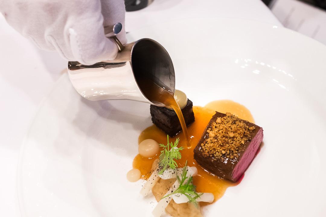 Onyx Restaurant Boedapest hert