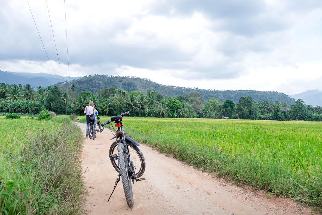 Jetwing Kaduruketha hotel Sri Lanka fietsen