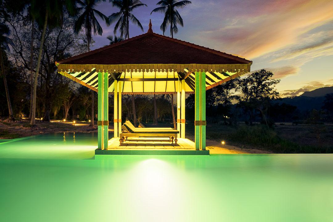 Jetwing Kaduruketha hotel Sri Lanka zwembad