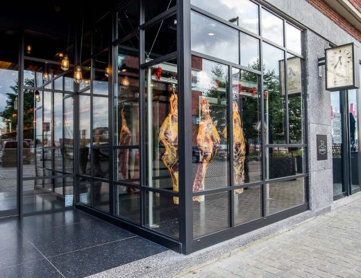 Millevaches Antwerpen winkel etalage