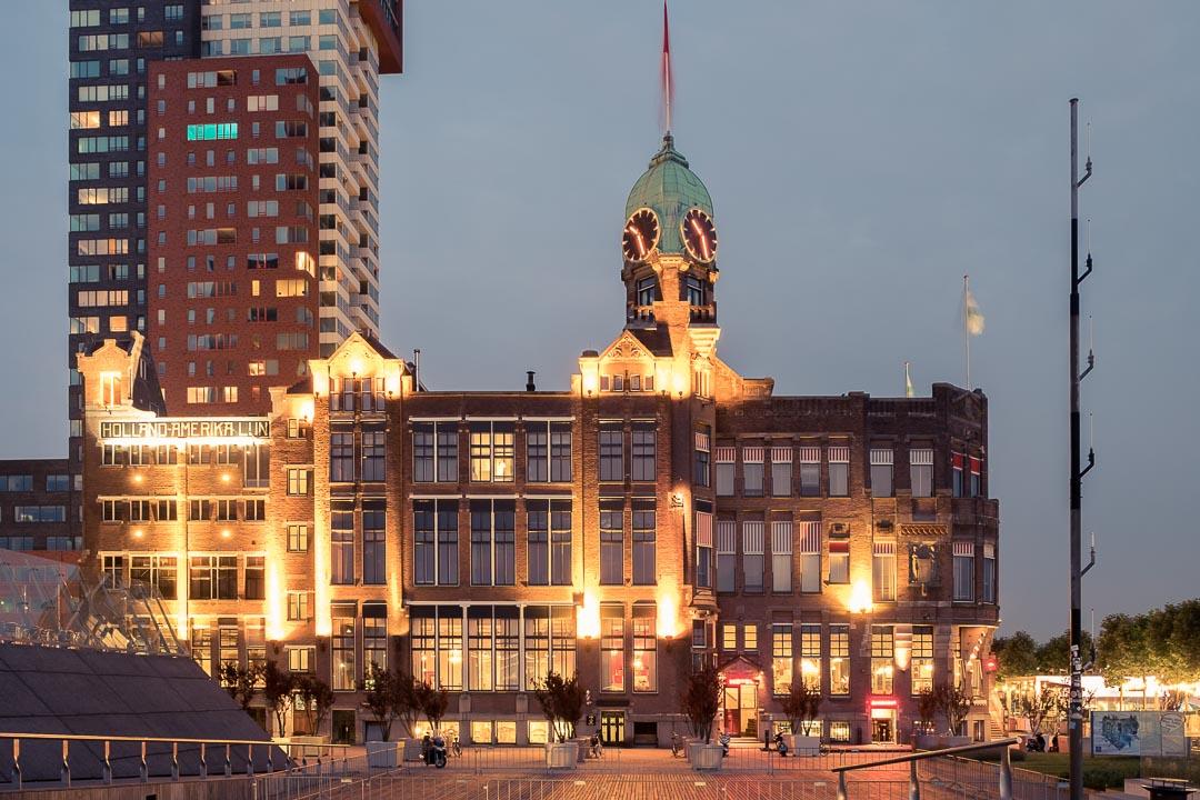 Hotel New York Rotterdam gebouw