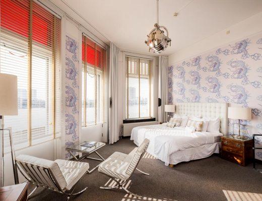 Hotel New York Rotterdam slaapkamer DEF